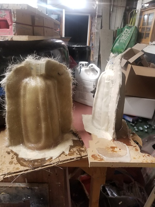 First Half of 2nd Sister Gauntlet Mothermolds Laid Up