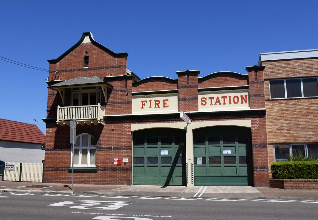 Fire Station, Mascot, Sydney, NSW.
