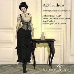 lassitude & ennui Agatha dress
