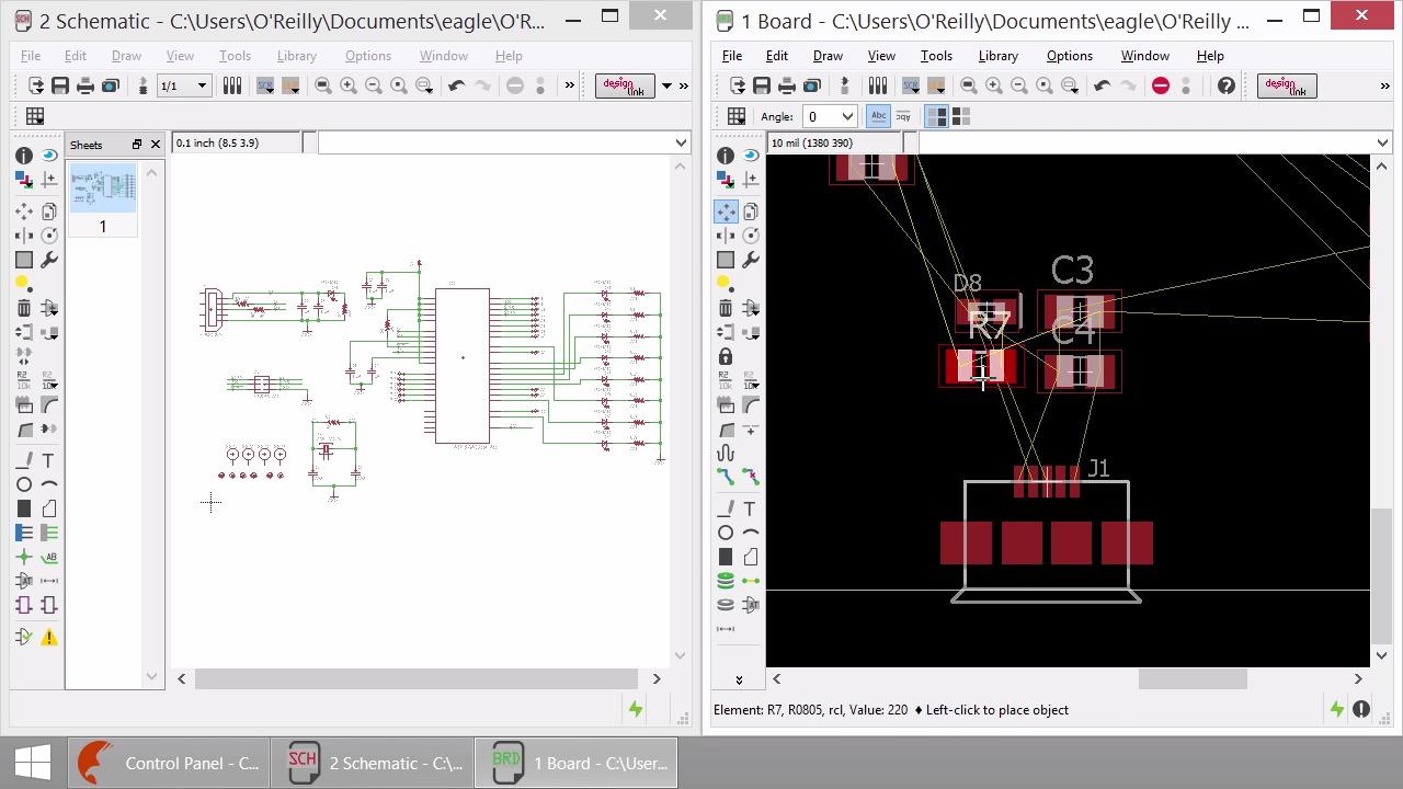 Learning CadSoft EAGLE 7.5