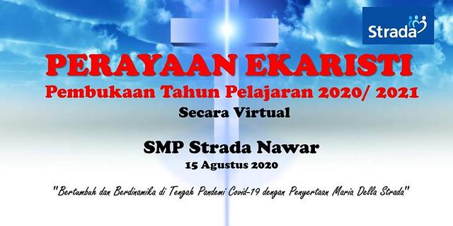 Misa Awal Tahun Pelajaran 2020/2021 Online