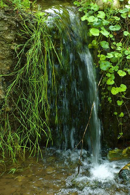 Waterfall One-Meter Tall