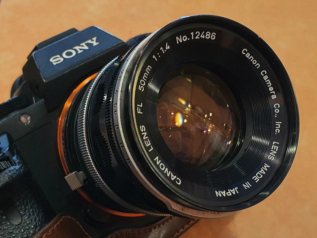 a7ii fl50mm f1.4 初期型