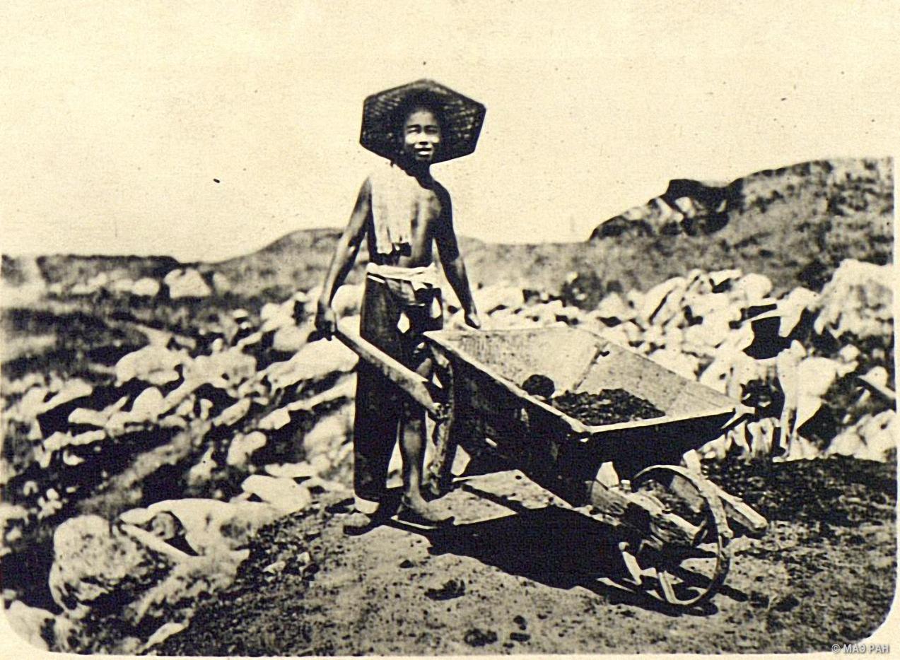 Угольщик в окрестностях Пекина