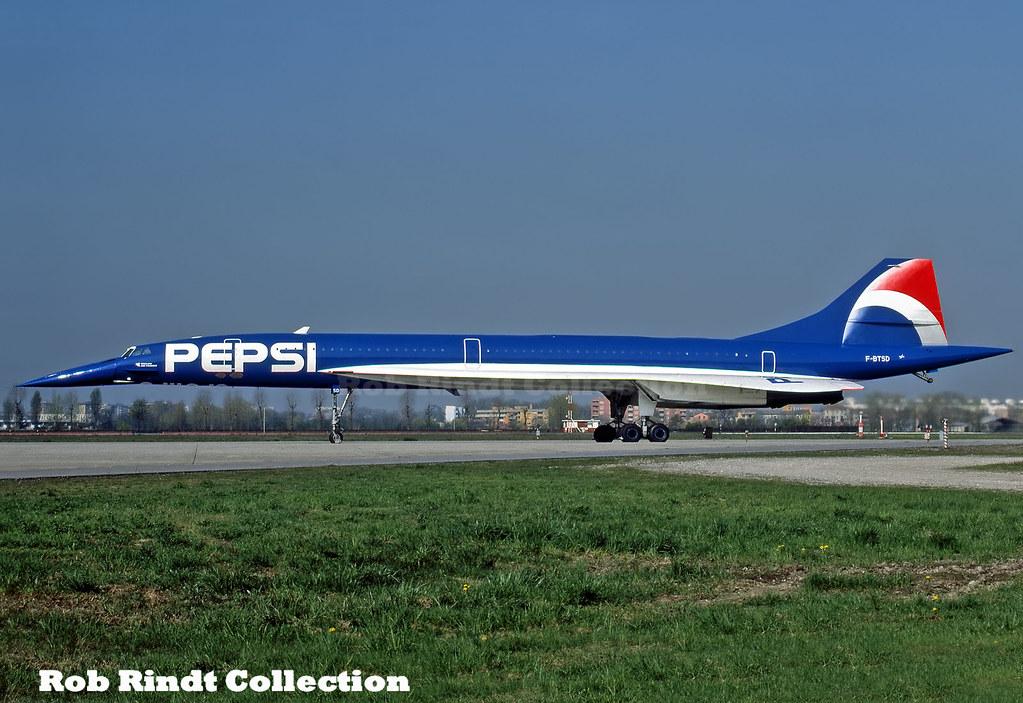 Air France (PEPSI) Concorde-101 F-BTSD