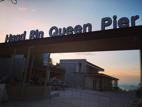 Haadrin Queen Pier former bigbudfha pier ハードリンクイーンピア