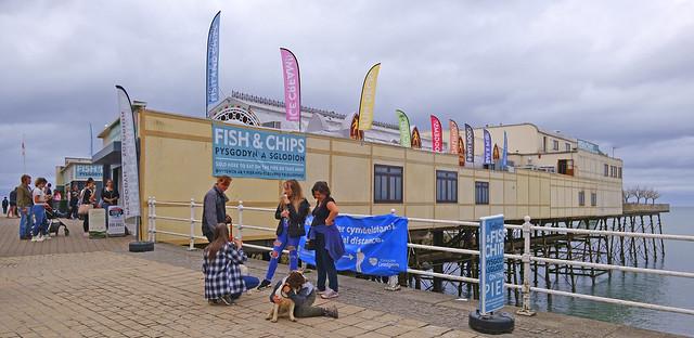 The Royal Pier Aberystwyth, Wales
