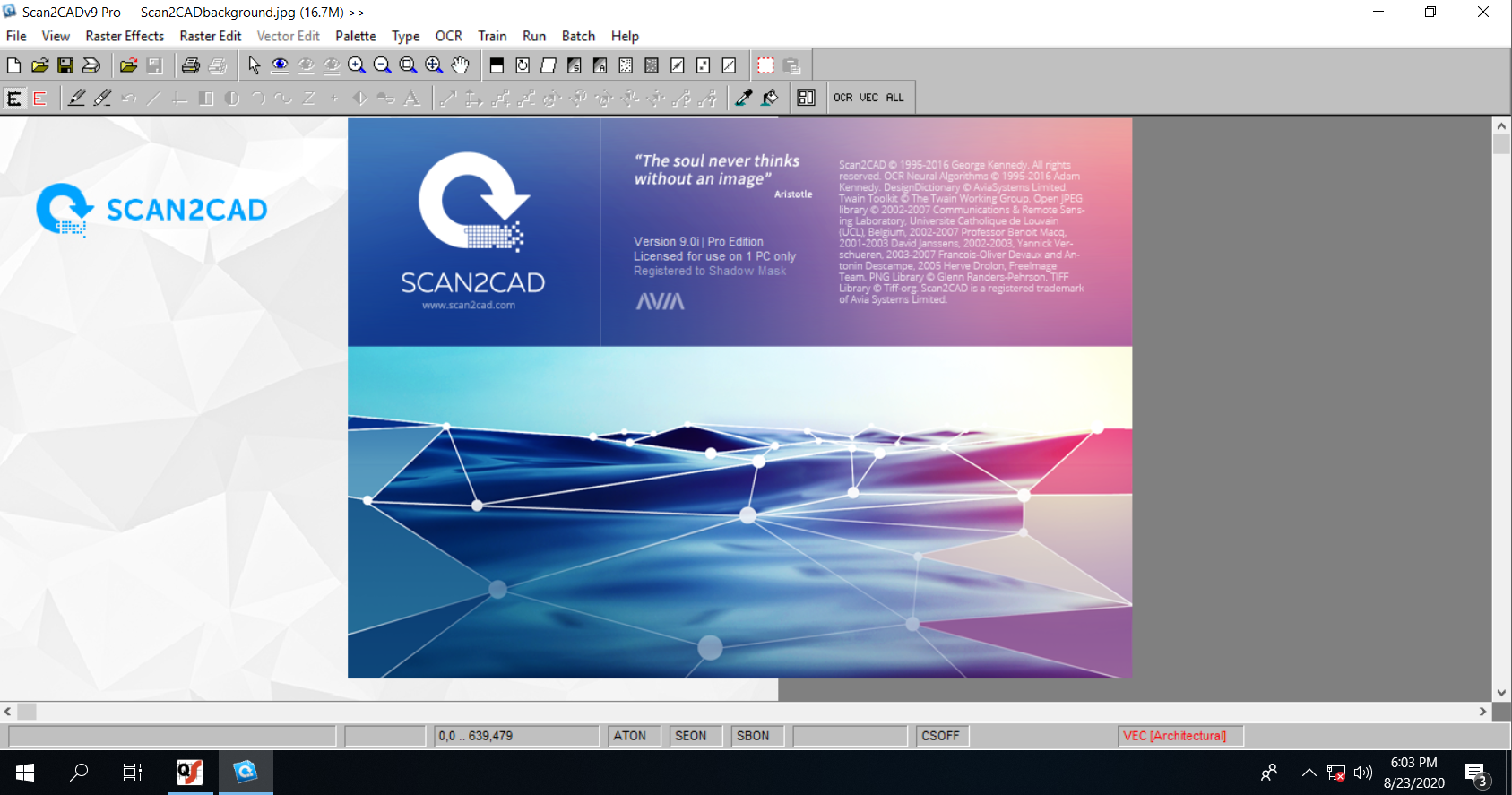 Working with Scan 2 CAD Pro 9.0i full