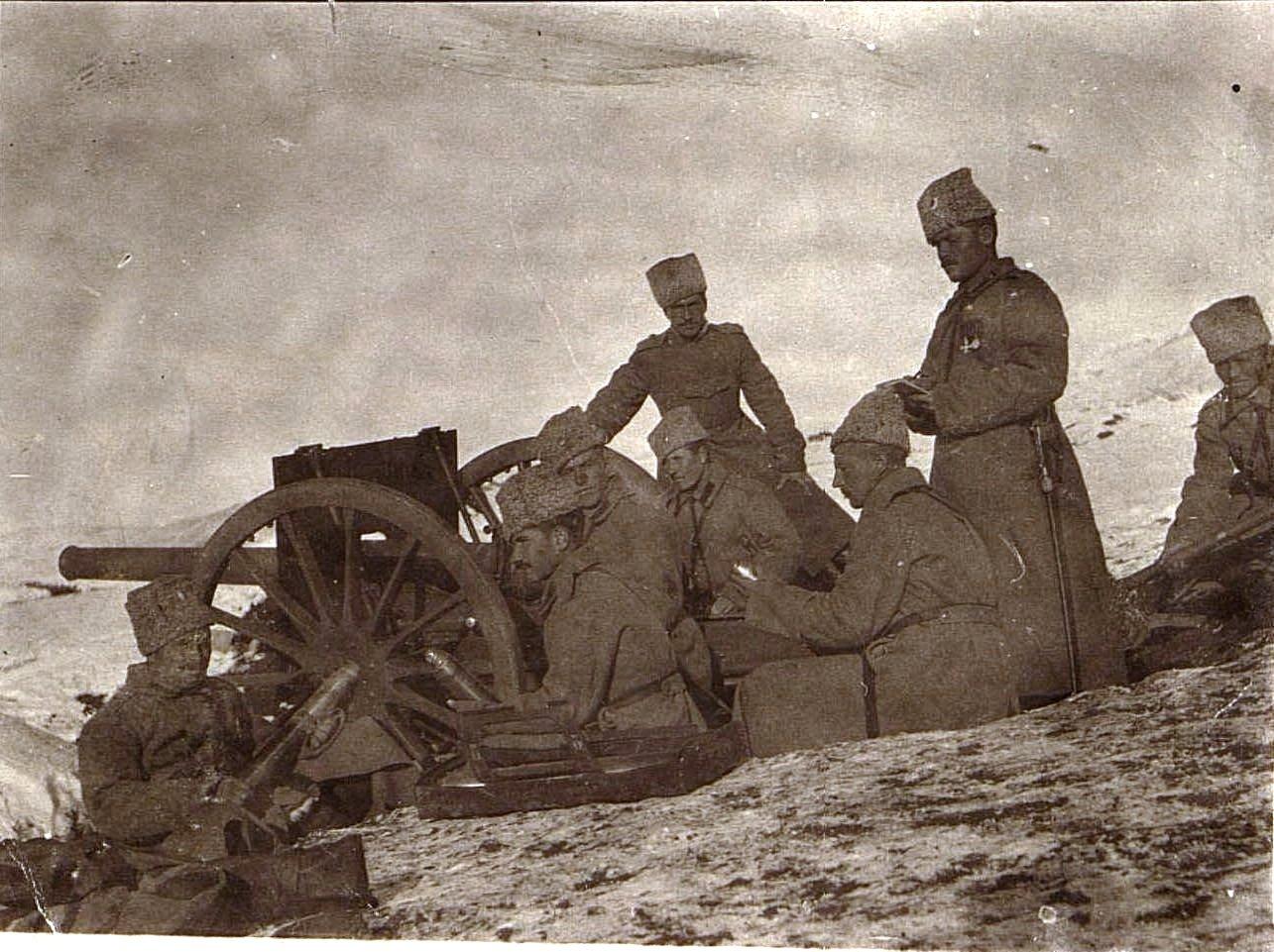 34. Артиллеристы на позиции (Персидский фронт)