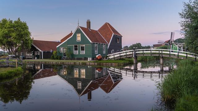 A Cheese Farm in Zaandam, Netherlands