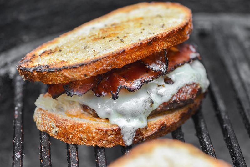 Pastrami Bacon Burgers