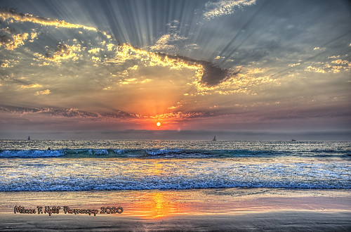 torrancebeach sunset colorful clouds sky southerncalifornia california beach pacificocean