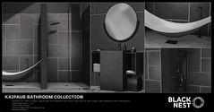 BLACK NEST / Kaipaus Bathroom Collection / Uber