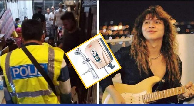Pemain Gitar Eddy Wan Othman Meninggal Dunia Akibat Renjatan Elektrik
