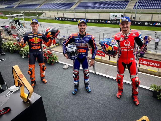 MotoGP Styria Podium 2020