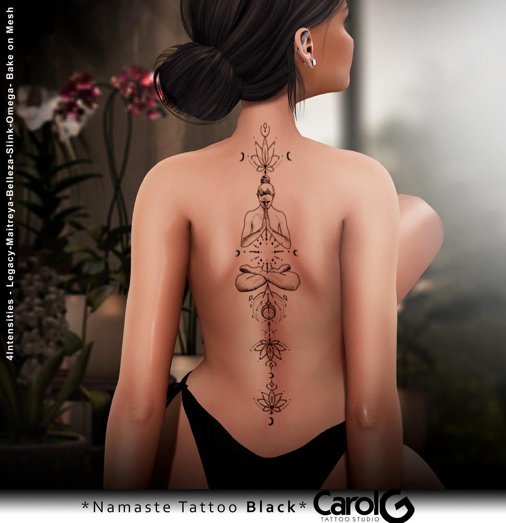 Namaste Back TaTToo [CAROL G]