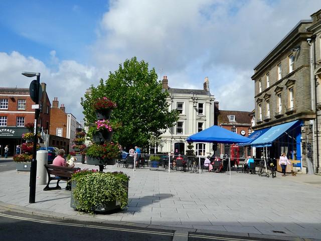 Market Square, Wimborne Minster