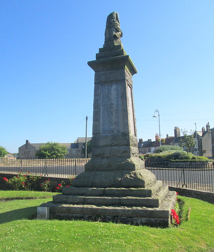 Tweedmouth War Memorial, Reverse