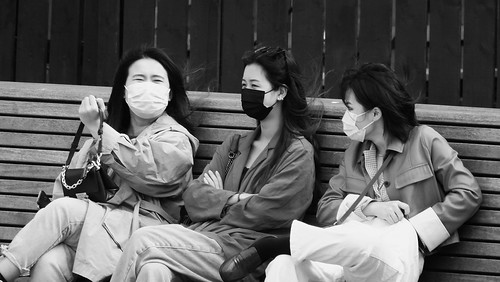 Three Women, Masked 02