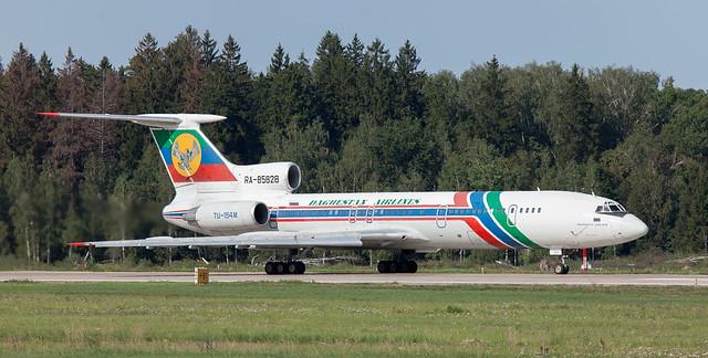 Tu-154 | RA-85828 | DME | 20110818