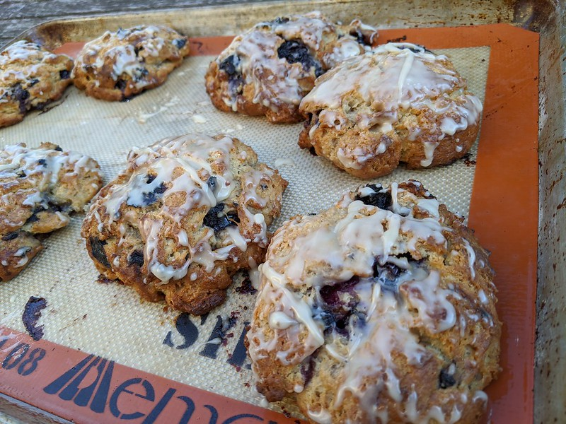Joanne Chang's Maple-Blueberry Scones