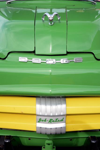 Job Rated - 1952 Dodge Series B Pickup Detail