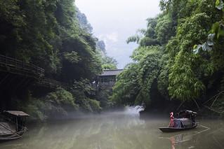 Scenery near Three Gorges Dam