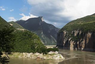 Scenary near Three Gorges Dam