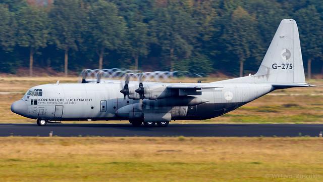 Lockheed C-130H-30 Hercules G-275 Royal Netherlands Air Force