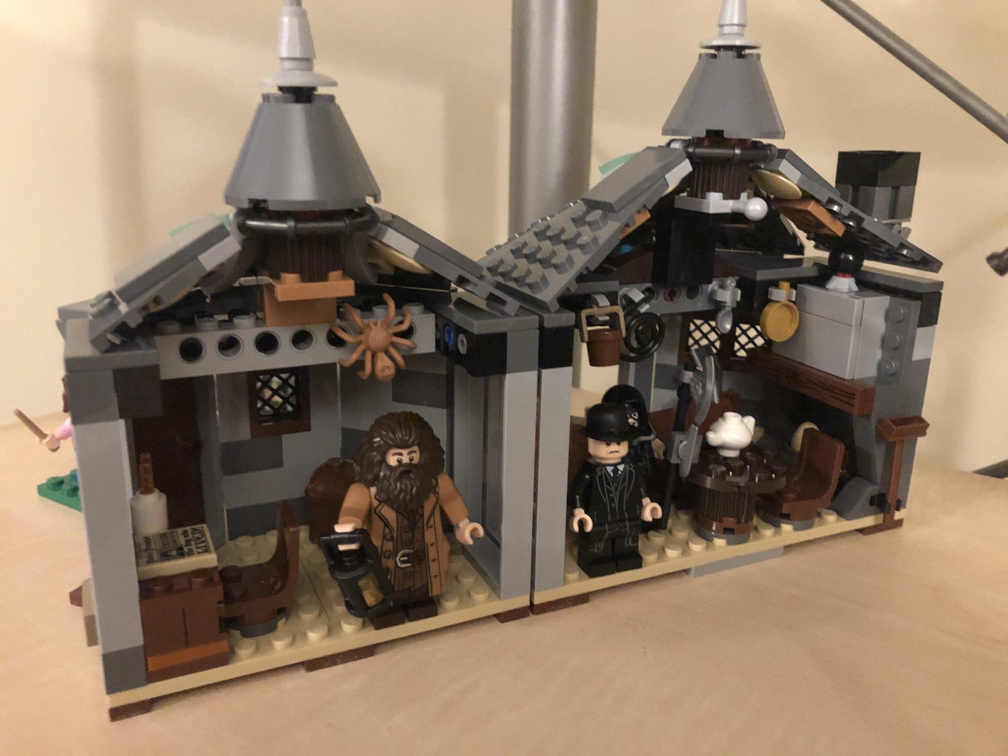 Inside Hagrid's house