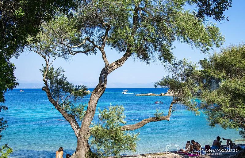 Marmari Beach, Loggos Paxos