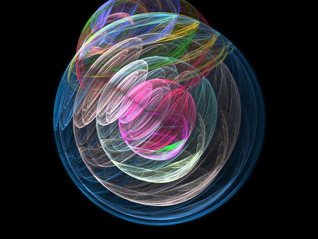 Fractal Interlocking Circles