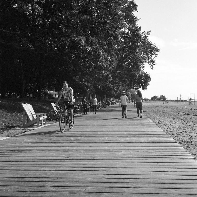 Early Morning Walk on the Boardwalk