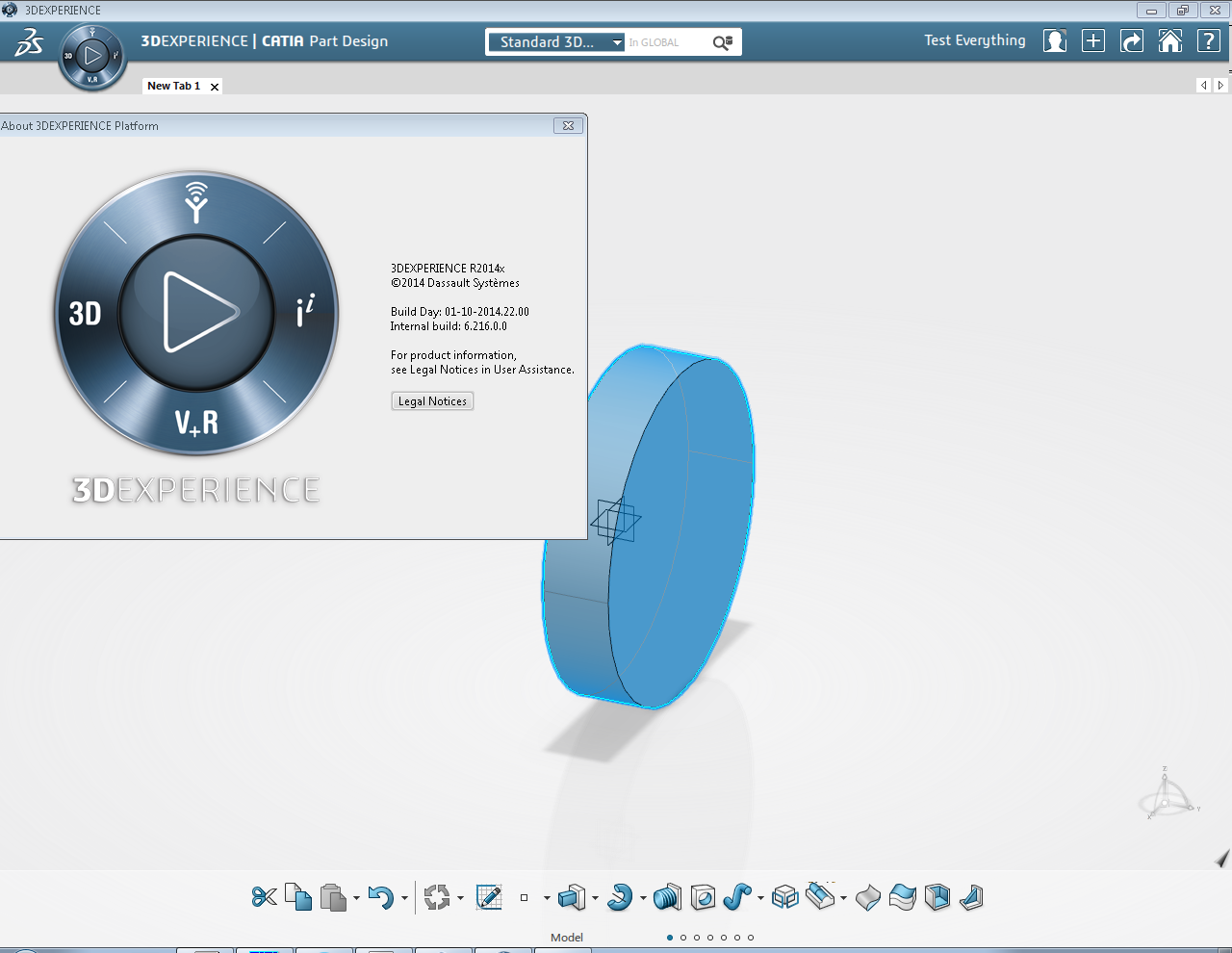 Working with DASSAULT SYSTEMES 3DEXPERIENCE V6 R2014X full