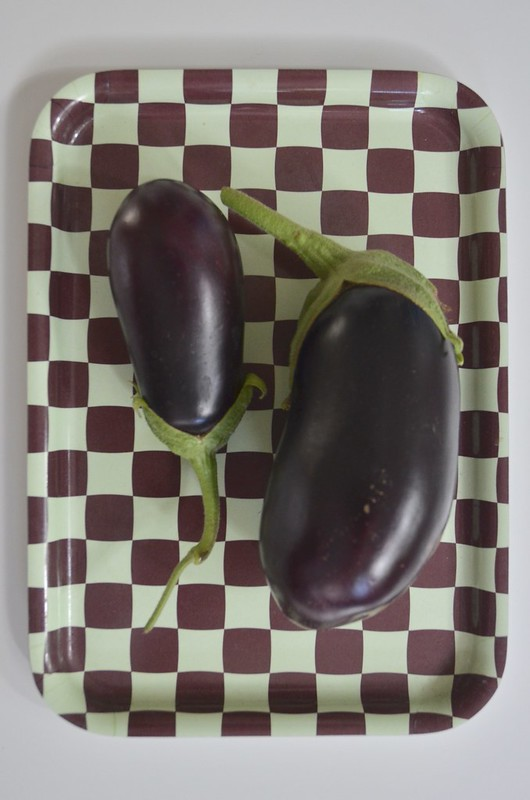 home-grown aubergine recipe