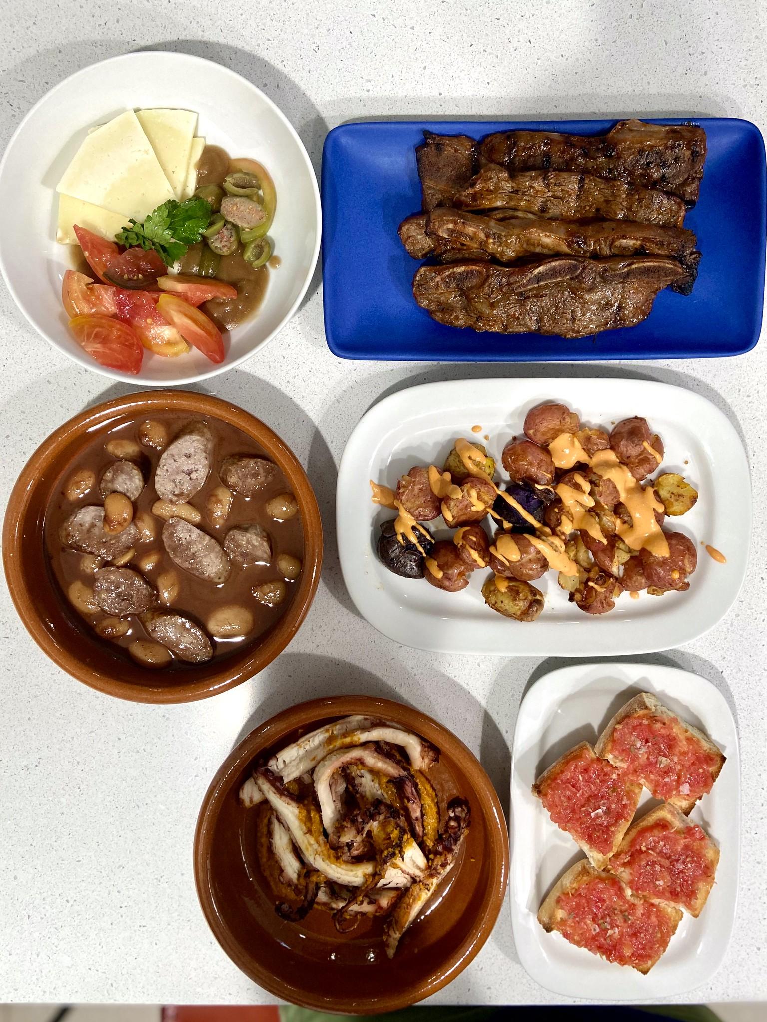 Sra. Martinez Throwback Meal  - Michelle Bernstein Catering