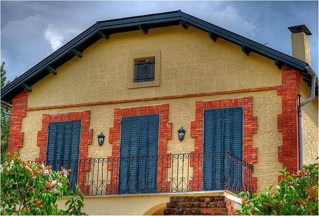 Una casa muy bonita