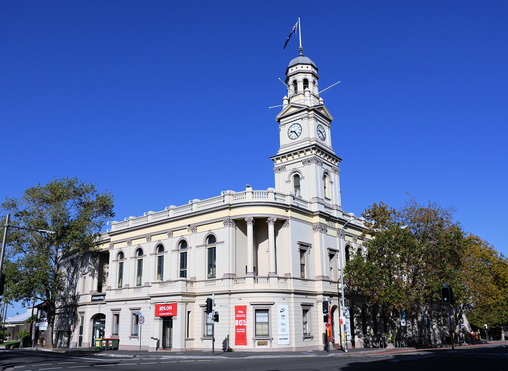 Town Hall, Paddington, Sydney, NSW.