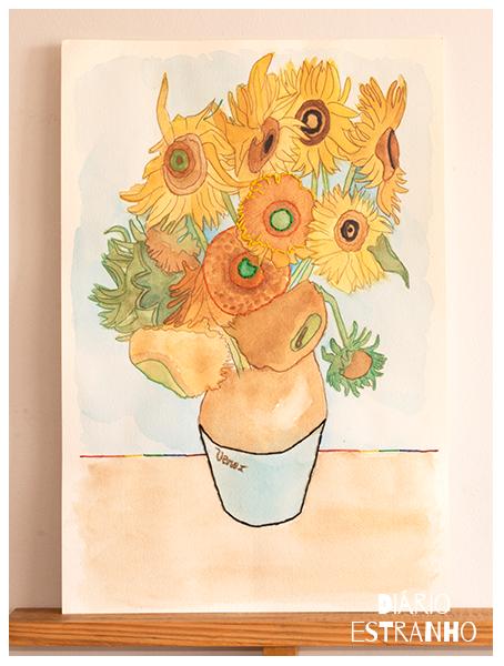 vangogh-sunflowers-watercolor
