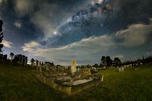 newsouthwales australia nsw camden oaks sydney astro cemetery st matthews church night milky way