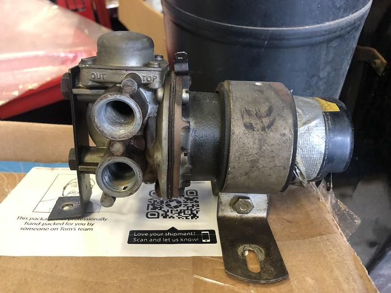 Fuel pump brackets
