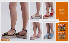 [WellMade] Santana Wedges - Exclusive for Girls Heaven -EVENT-