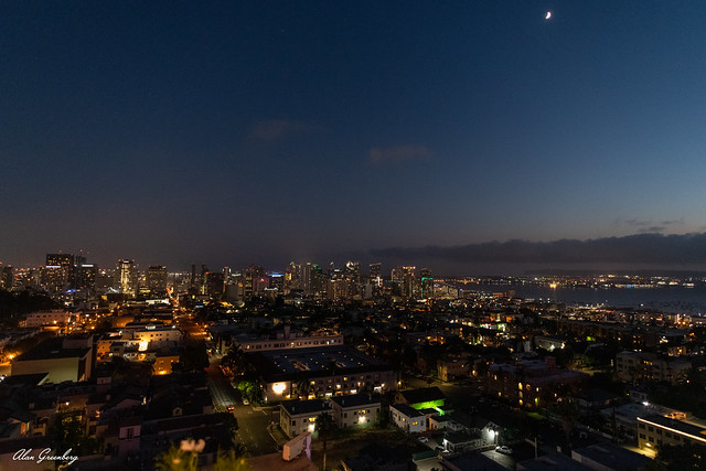 View of San Diego from the Manchester Financial Building