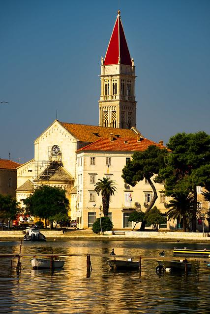....Kathedrale des heiligen Laurentius in Trogir...