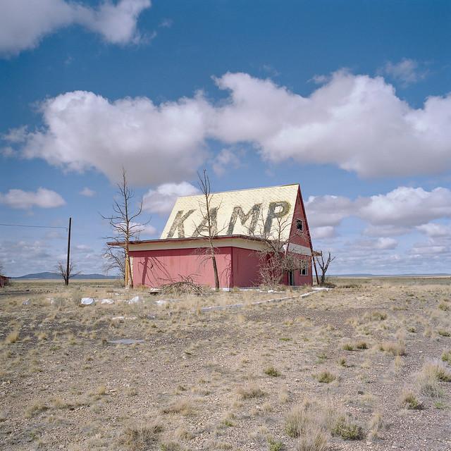 kamp / route 66. two guns, az. 2007.