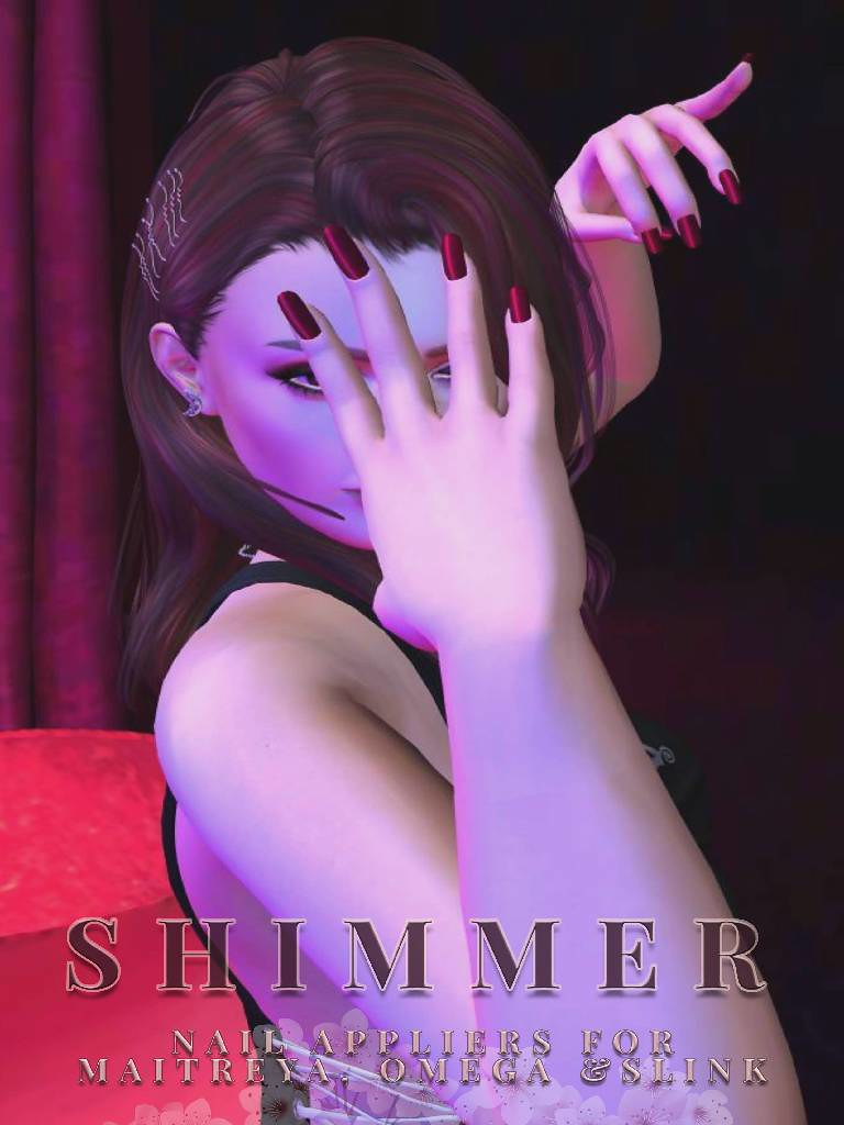 SC Shimmer Nail Appliers OMS