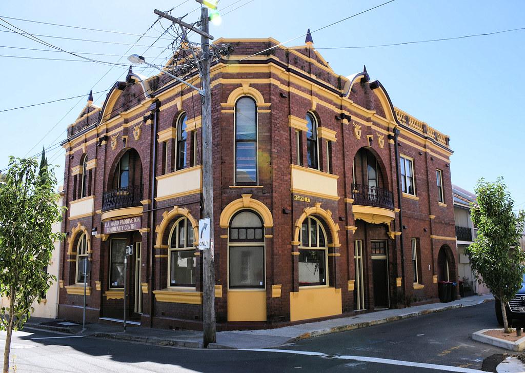 E J Ward Community Centre, Paddington, Sydney, NSW.