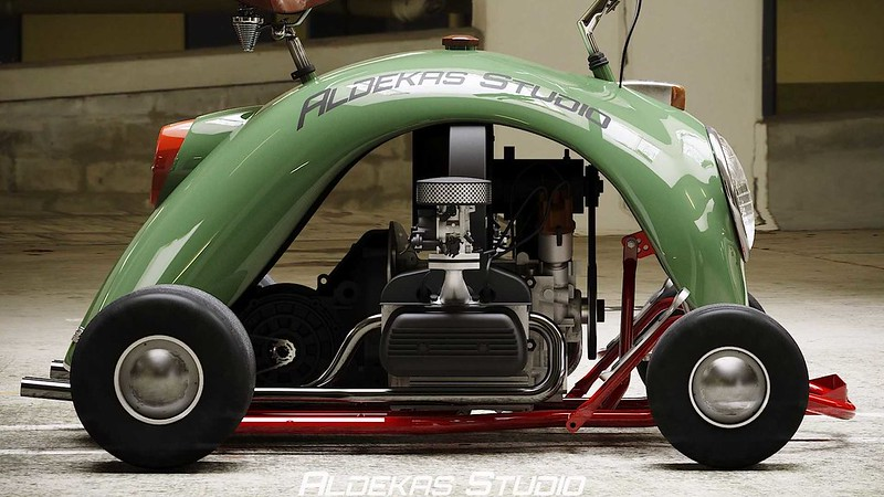 go-kart-vw-beetle-fender---close-up-side