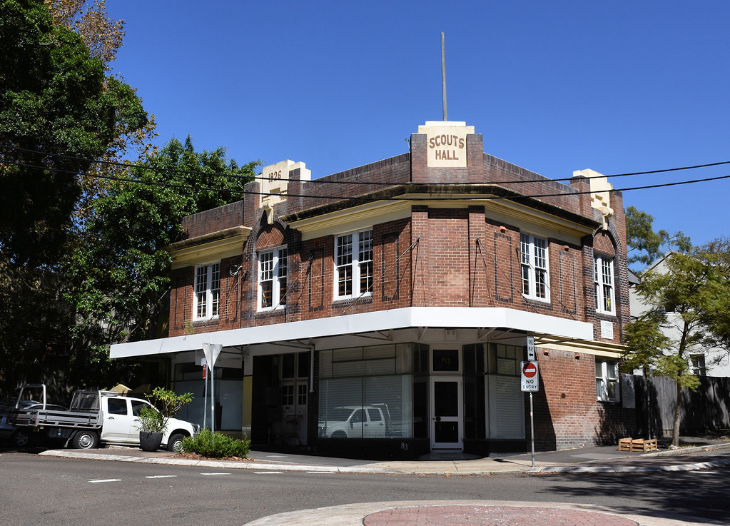 Scout Hall, Paddington, Sydney, NSW.