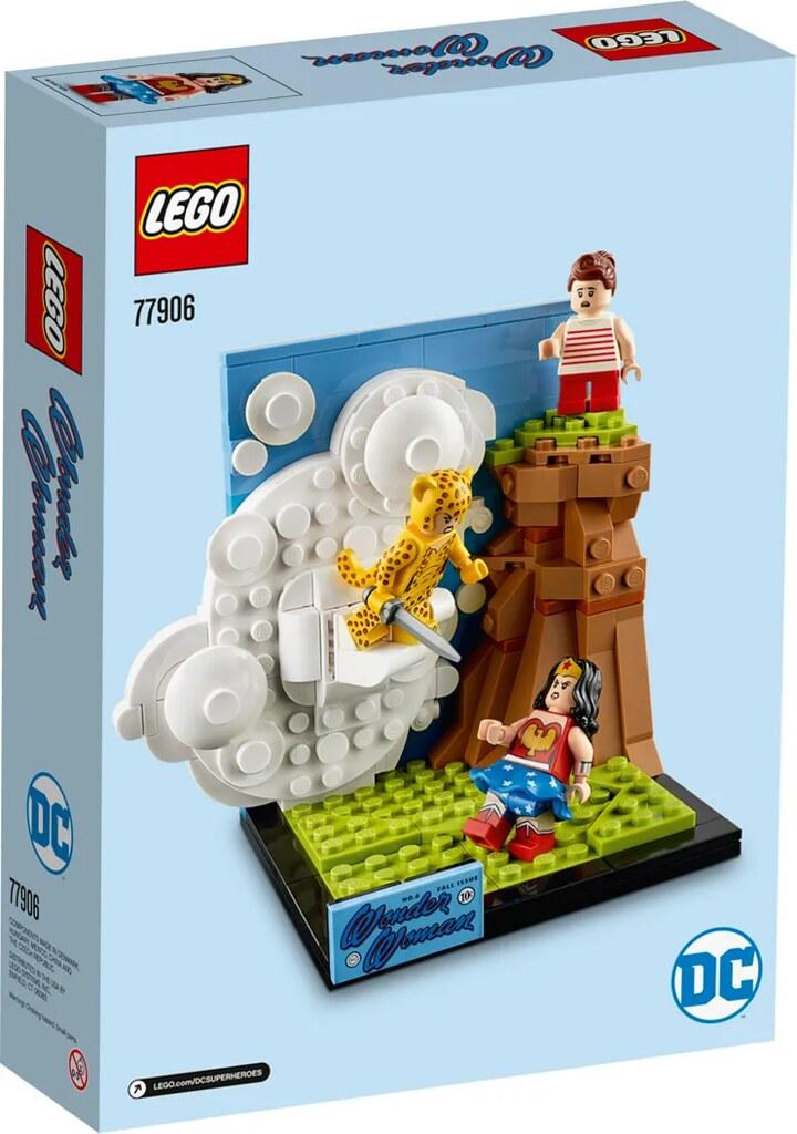LEGO 77906 神力女超人 再現經典漫畫封面【DC Fandome限定】